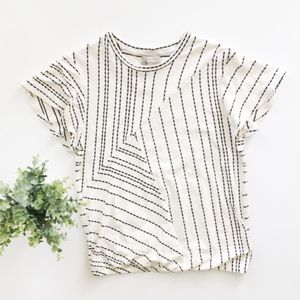 Anthropologie | Striped Top Tee size XS